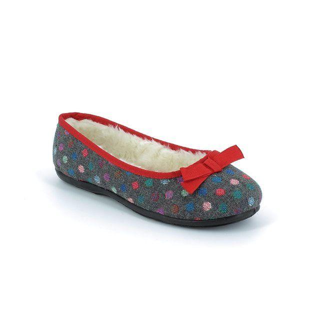 Clarks Adella Angel E Fit Grey multi slippers