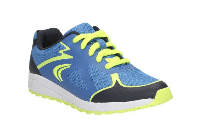 Clarks Adven Go Jnr F Fit Blue multi trainers