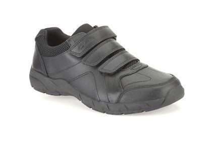 Clarks School Shoes - Black - 0078/45E AIR LEARN JNR