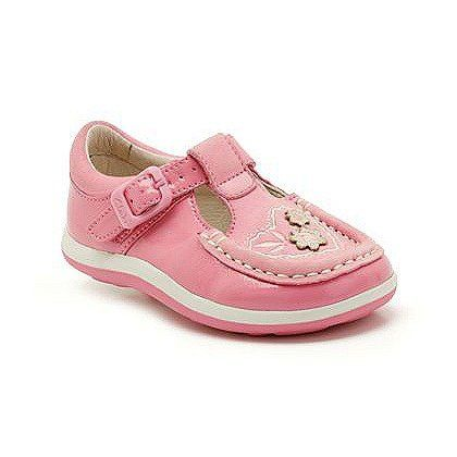 Clarks Alana Lucy Fst E Fit Pink first shoes