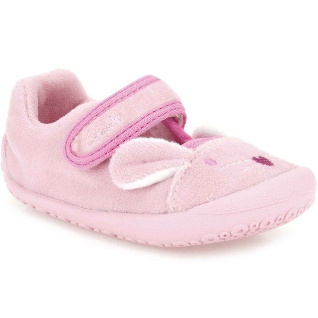 Clarks Angel Dreams S F Fit Pink slippers