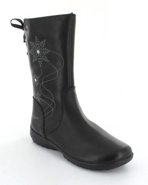 Clarks Boots - Black - 5177/97G ARLINA GLITZ G
