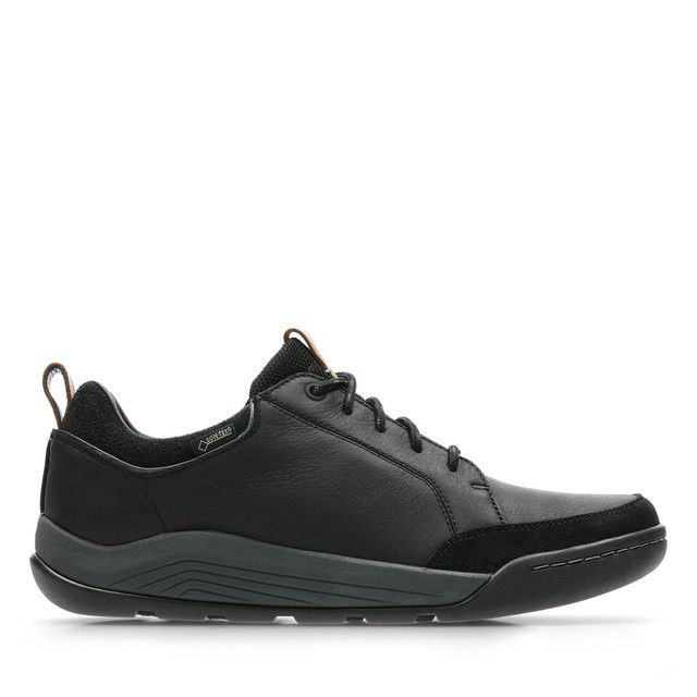 Clarks Casual Shoes - Black leather - 3540/07G ASHCOMBE BAY G