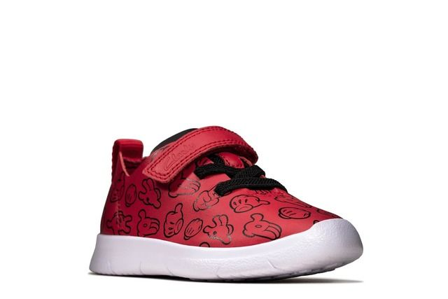 Clarks Trainers - Red - 495677G ATH COMIC T DISNEY