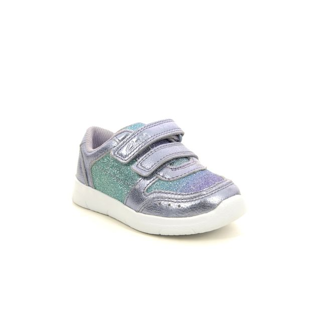 Clarks Trainers - Lilac - 541217G ATH SONAR T