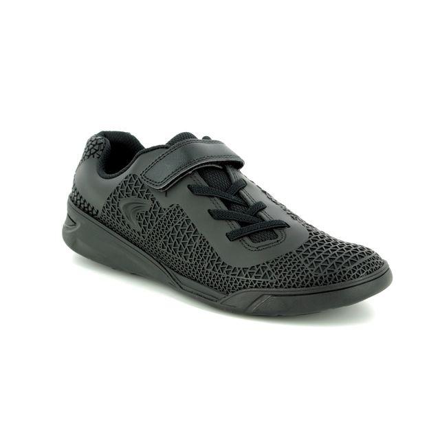 3b3f998f Clarks Maris Fire Inf E Fit Black school shoes