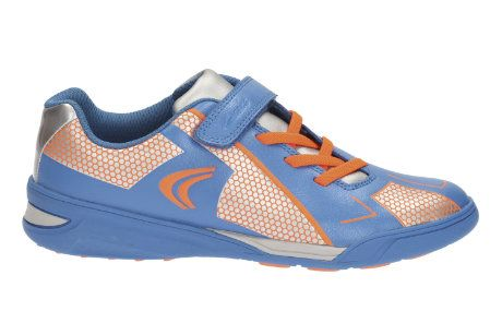 Clarks Trainers - Blue multi - 1483/25E AWARD LEAP JNR
