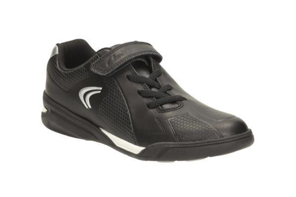 Clarks Trainers - Black - 1921/07G AWARD LEAP JNR