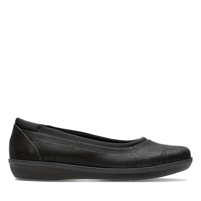Clarks Pumps - Black - 3778/74D AYLA LOW
