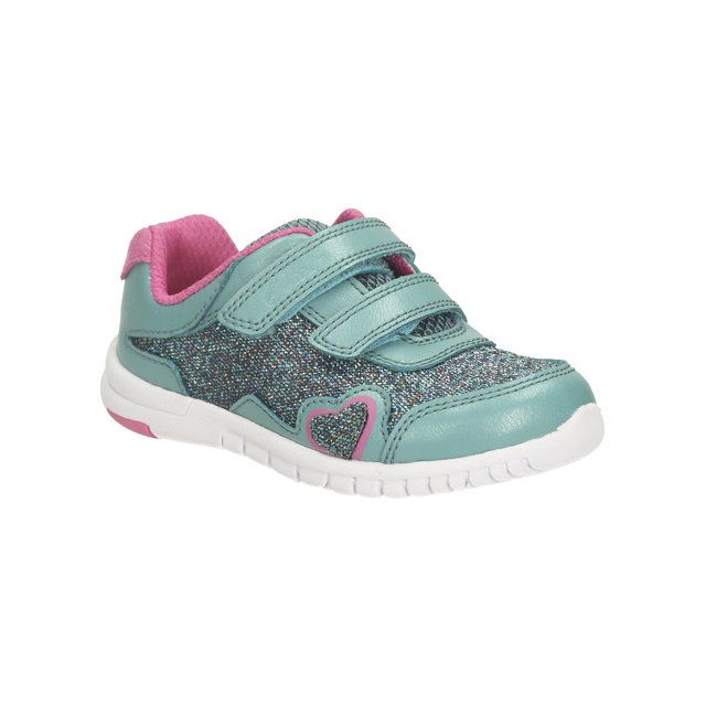 Clarks Azon Maze Fst F Fit Turquoise first shoes