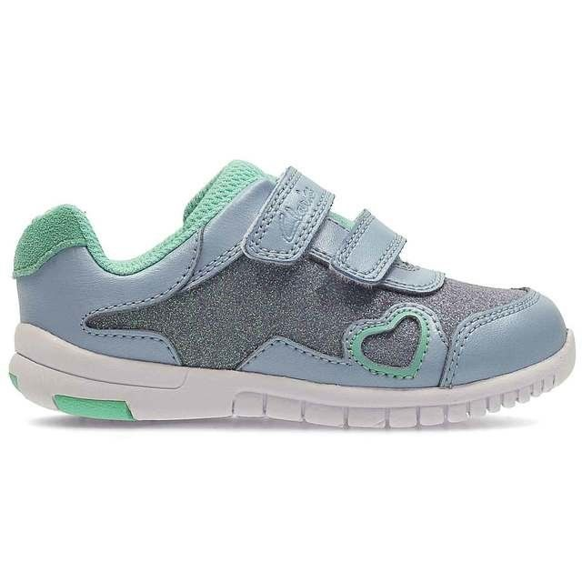 Clarks Azon Maze Fst G Fit DENM first shoes