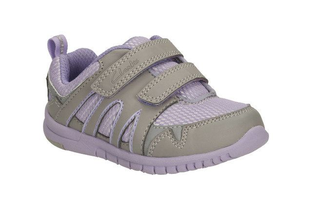 Clarks First Shoes - Purple multi - 0584/06F AZON MOVE FST
