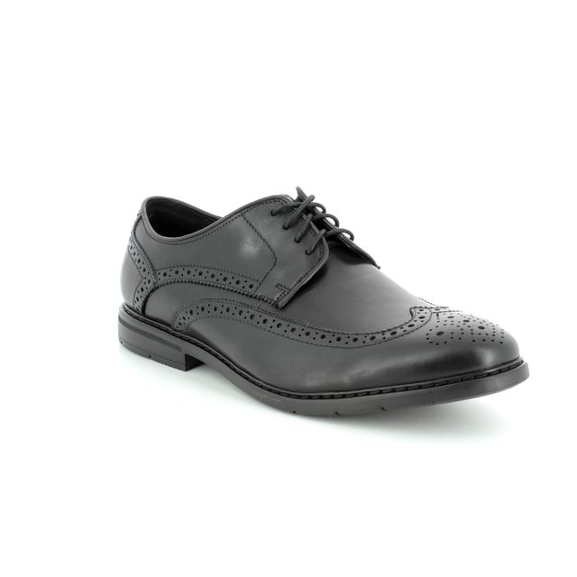 Clarks Formal Shoes - Black - 3224/27G BANBURY LIMIT