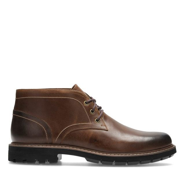 Clarks Boots - Tan Leather  - 2747/37G BATCOMBE LO