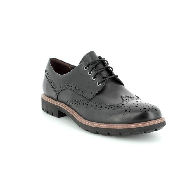 Clarks Brogues - Black - 2719/27G BATCOMBE WING