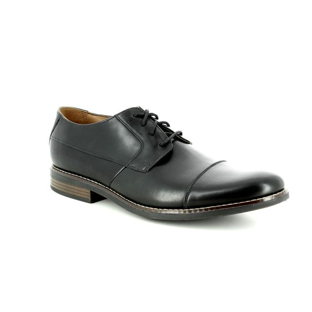 Clarks Formal Shoes - Black leather - 2313/97G BECKEN CAP