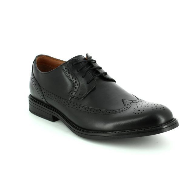 Clarks Beckfieldlimit G Fit Black formal mens shoes