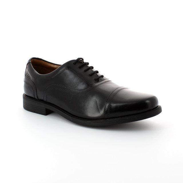 Clarks Formal Shoes - Black - 0288/97G BEESTON CAP