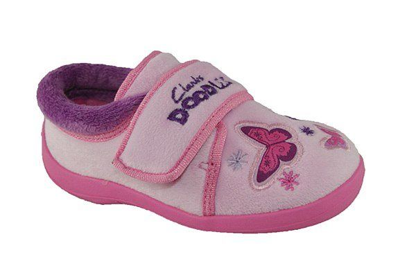 Clarks Bettyne F Fit Pink slippers