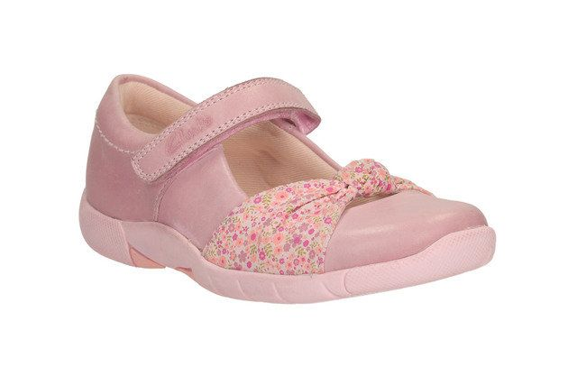 Clarks Everyday Shoes - Pale pink - 0584/36F BINNIE NIA INF