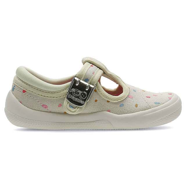 Clarks Briley Bow Fst F Fit Cotton first shoes