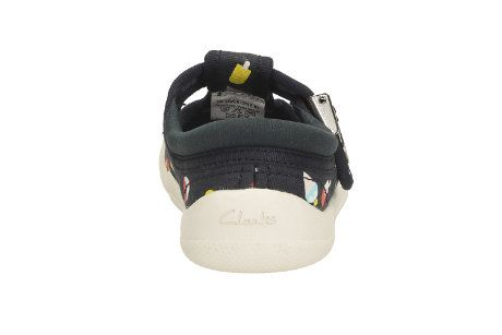 Clarks Briley Sky Fst F Fit Navy first shoes