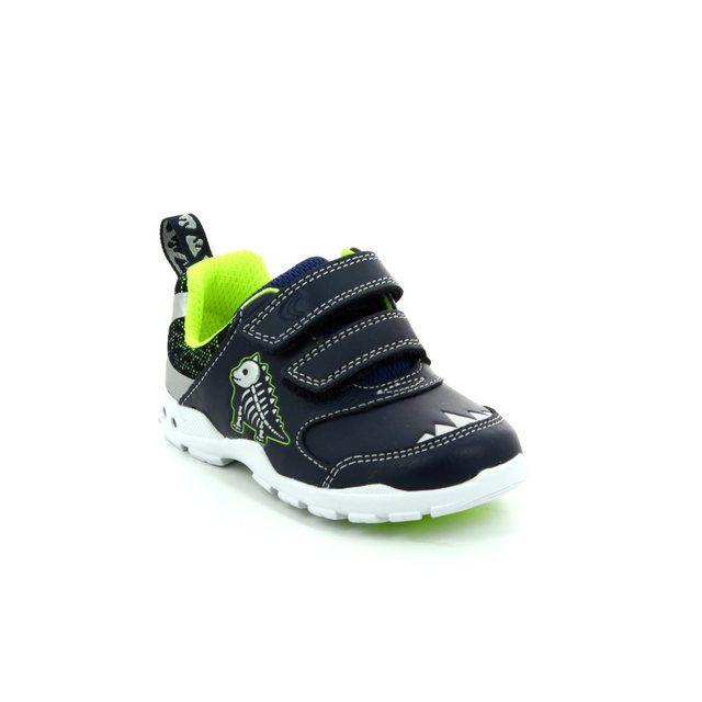 Clarks First Shoes - Navy - 2687/26F BRITE REX FST