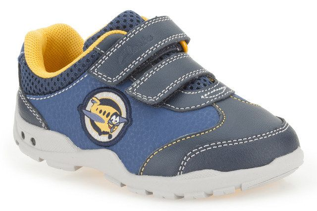 Clarks Brite Wing Fst G Fit Blue trainers