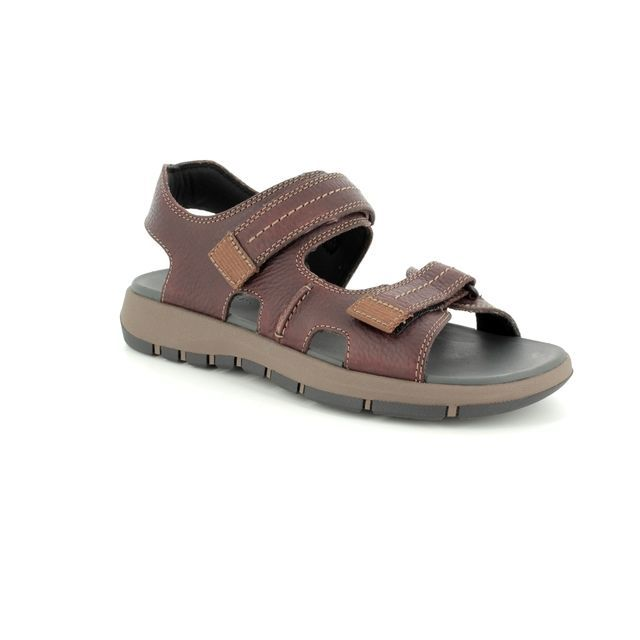 Clarks Sandals - Dark Brown - 3154/97G BRIXBY SHORE