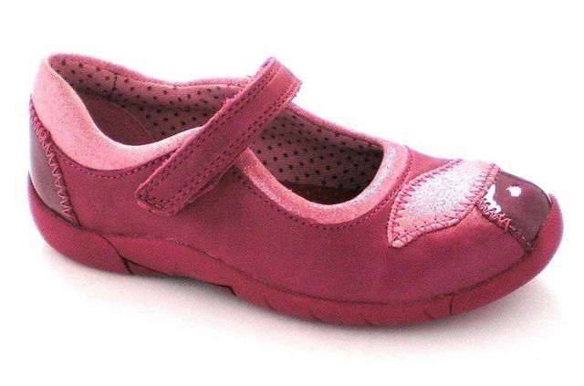 Clarks Buzz Baby Pre G Fit Raspberry pink everyday shoes