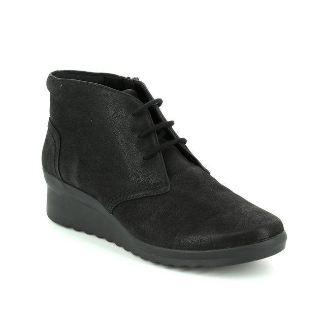 Clarks Ankle Boots - Black - 2937/24D CADDELL HOP