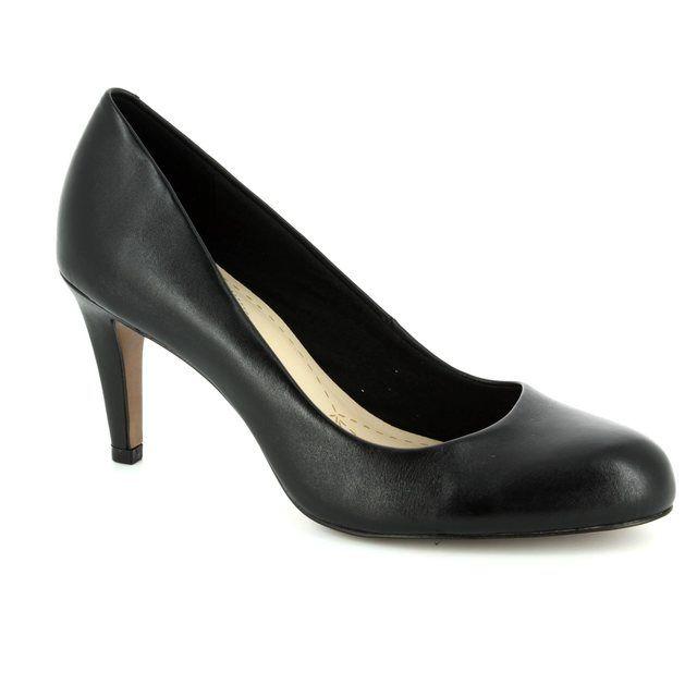 Clarks High-heeled Shoes - Black - 1467/74D CARLITA COVE