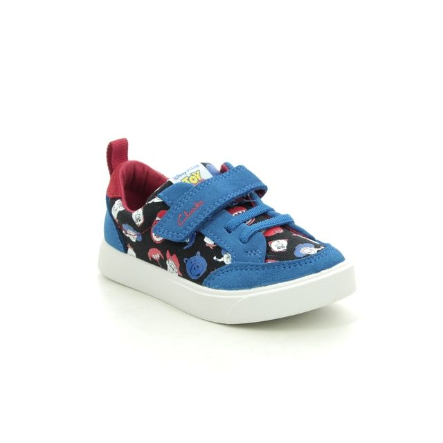 Clarks Trainers - Blue - 527116F CITY HOWDY T