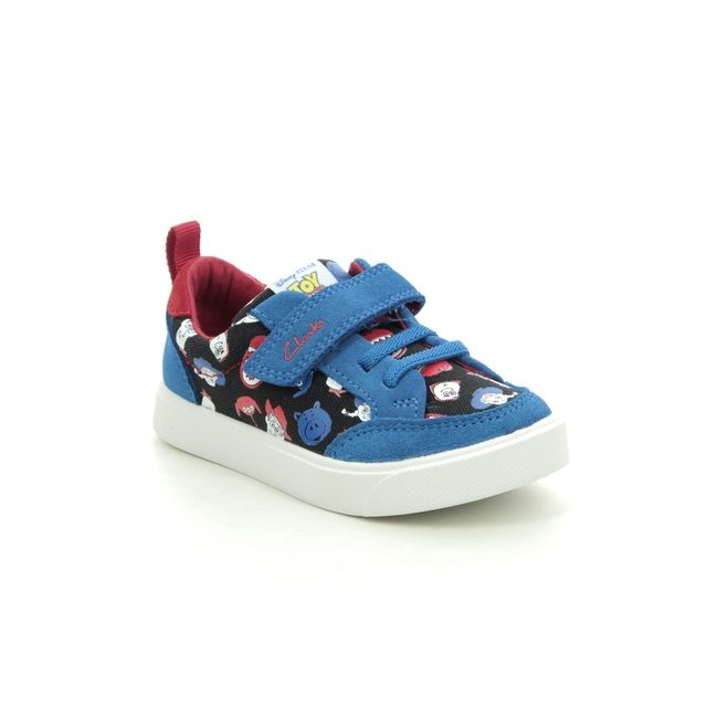 Clarks Trainers - Blue - 527117G CITY HOWDY T