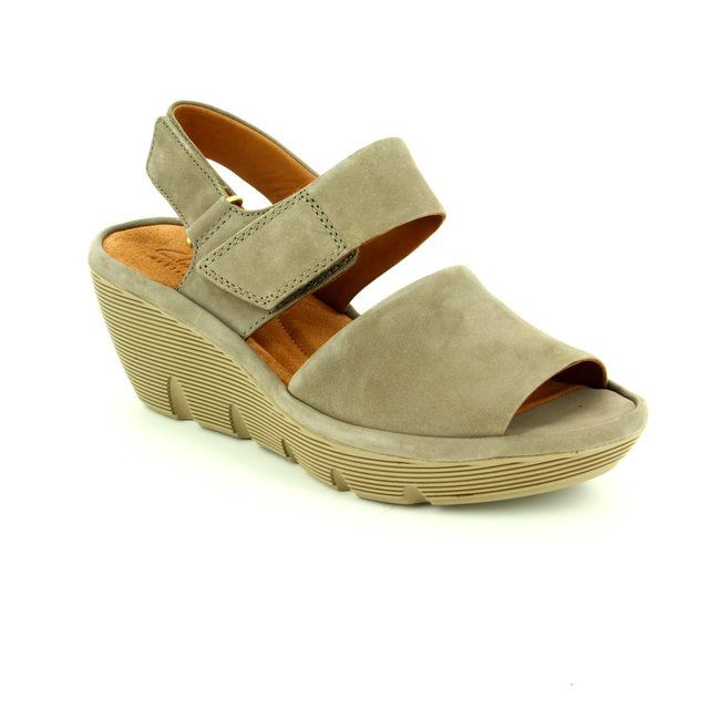 Clarks Clarene Allure D Fit Green sandals
