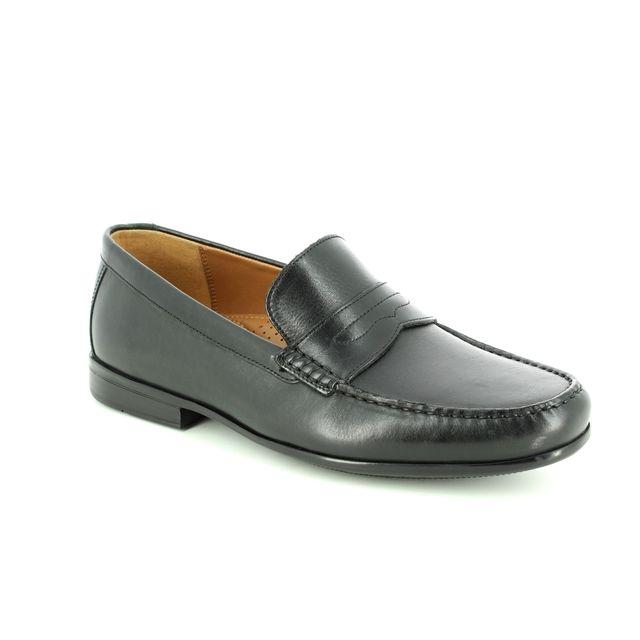 Clarks Claude Lane G Fit Black formal shoes