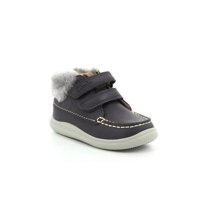 Clarks First Shoes - Grey - 3012/86F CLOUD FLUFI FST