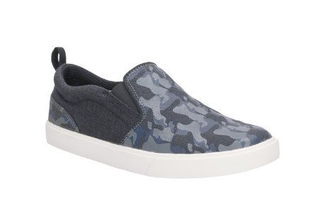 Clarks Club Skate Inf G Fit Navy multi school shoes