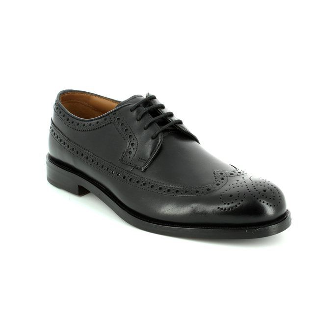 Clarks Brogues - Black - 1937/67G COLING LIMIT