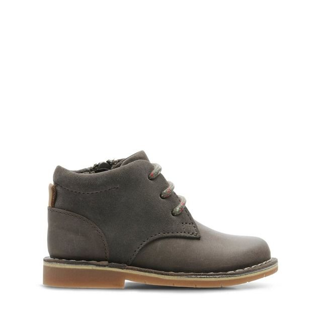 Clarks Boots - Brown leather - 432627G COMET RADAR T