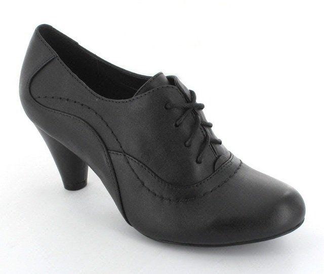 Clarks Coolest Fruit D Fit Black shoe-boots