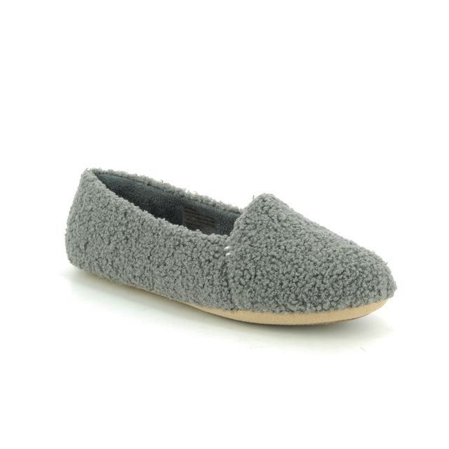 Clarks Slippers - Grey - 445924D COZILY SNUG