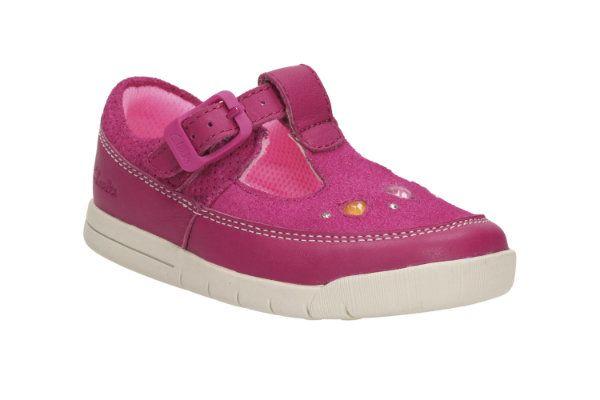 Clarks First Shoes - Pink - 1788/76F CRAZY DOT FST