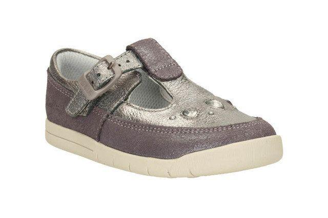 Clarks First Shoes - Metallic - 1869/17G CRAZY DOT FST