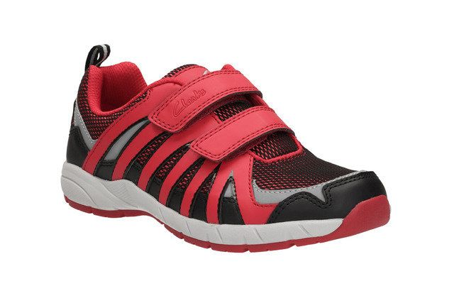 Clarks Cross Hype Inf G Fit Red multi trainers