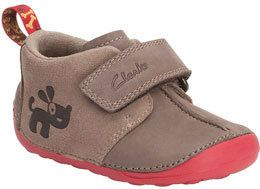 Clarks Cruiser Fun F Fit Brown first shoes