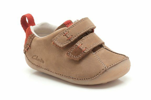 Clarks Cruister Time G Fit Tan first shoes