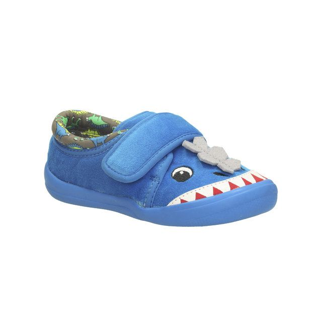 Clarks Cuba Elmo Inf G Fit Blue slippers