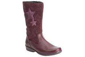 Clarks Daisy Elf F Fit Wine boots