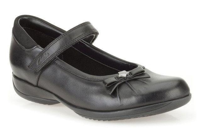 Clarks School Shoes - Black - 0082/57G DAISY SPARK JN